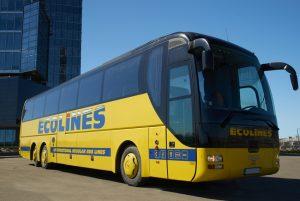 автобус львів прага ecolines
